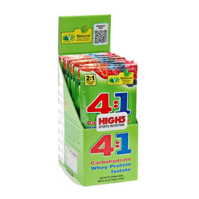 High5 4:1 EnergySource - Nutrition sport - Summer Fruits 12 x 47g vert/blanc